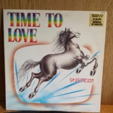 Discos de vinilo: TIME TO LOVE. 5ª ESTACIÓN. LP / BELTER - 1984. MBC. ***/***. Lote 56405494