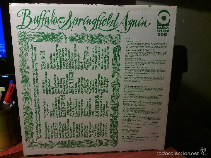 Discos de vinilo: LP vinilo BUFFALO SPRINGFIELD - AGAIN / Orig. Usa press 1967 / ATCO stereo SD 33-226 / RARÍSIMO!!!!! - Foto 2 - 56405506