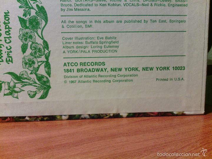 Discos de vinilo: LP vinilo BUFFALO SPRINGFIELD - AGAIN / Orig. Usa press 1967 / ATCO stereo SD 33-226 / RARÍSIMO!!!!! - Foto 3 - 56405506