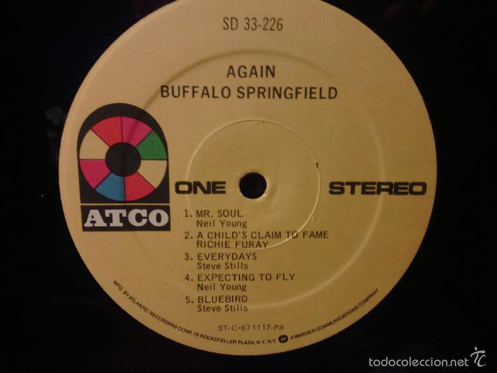 Discos de vinilo: LP vinilo BUFFALO SPRINGFIELD - AGAIN / Orig. Usa press 1967 / ATCO stereo SD 33-226 / RARÍSIMO!!!!! - Foto 7 - 56405506