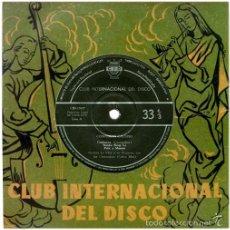 Discos de vinilo: GERALDO LA VINY Y SU ORQ. CON JOE CLEMENDORE (COBRA MAN) – CONFUSION CALYPSO - EP SPAIN 1959 - CID. Lote 56429670