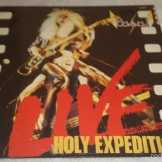 Discos de vinilo: BOW WOW - HOLY EXPEDITION LIVE LP ROADRUNNER RECORDS RR 9881 EUROPE 1983. Lote 56433803