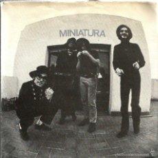 Discos de vinilo: EP MINIATURA ( SISA + PAU RIBA + CACHAS + ALBERT BATISTE ). Lote 56434553