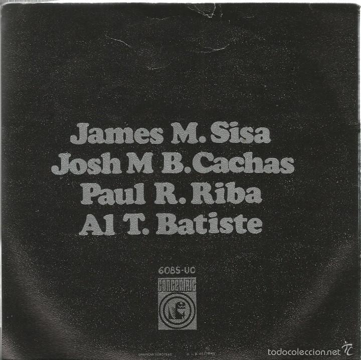 Discos de vinilo: EP MINIATURA ( SISA + PAU RIBA + CACHAS + ALBERT BATISTE ) - Foto 2 - 56434553