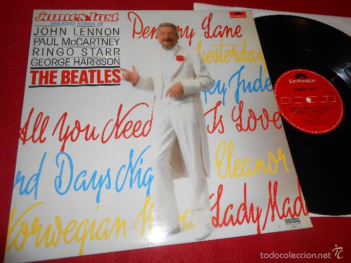 JAMES LAST GREATEST SONGS OF THE BEATLES LP 1983 POLYDOR EDICION ESPAÑOLA SPAIN (Música - Discos - LP Vinilo - Orquestas)