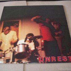 Discos de vinilo: UNREST LP TINK OF S.E. TEENBEAT ORIGINAL BÉLGICA 1989 + 2 ENCARTES . Lote 56459496