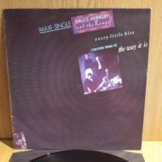Discos de vinilo: BRUCE HORNSBY AND THE RANGE. EVERY LITTLE KISS. MAXI / RCA - 1987 / LUJO. ****/****. Lote 56461635