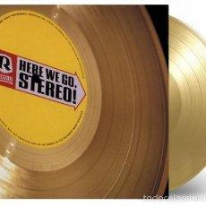 Discos de vinilo: RACOON - HERE WE GO, STEREO! LTD. VINILO COLOR ORO NUMERADO 180G LP PRECINTADO. Lote 121009612