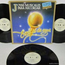 Discos de vinilo: JOYAS MUSICALES PARA RECORDAR - EXITOS DE AYER - 3 LP - PERFIL1967 - ADRIANO CELENTANO / TINA TURNER. Lote 56464236