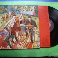 Discos de vinilo: GABINETE CALIGARI=AL CALOR DEL AMOR EN UN BAR= EL ORTELANO 1986 D,R.O.CIPRESE PEPETO. Lote 56465977
