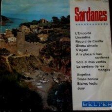 Discos de vinilo: LP DE ARTISTAS VARIOS SARDANES AÑO 1966. Lote 56468555