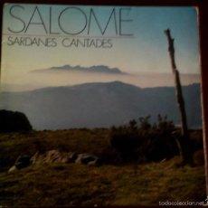 Discos de vinilo: LP DE SALOMÉ AÑO 1971. Lote 56468610