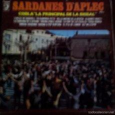 Discos de vinilo: LP DE COBLA LA PRINCIPAL DE LA BISBAL AÑO 1975. Lote 56468994