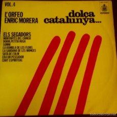 Discos de vinilo: LP DE L´ORFEO ENRIC MORERA AÑO 1976. Lote 56469222