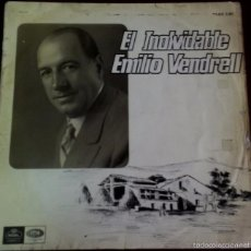Discos de vinilo: LP DE EMILIO VENDRELL AÑO 1966 . Lote 56469233