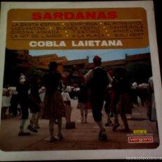 Discos de vinilo: LP DE COBLA LAIETANA AÑO 1967. Lote 56469261
