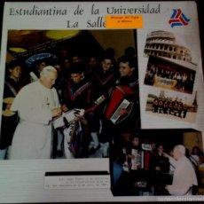 Discos de vinilo: LP MEXICANO DE ESTUDIANTINA DE LA UNIVERSIDAD LA SALLE AÑO 1989. Lote 56469273