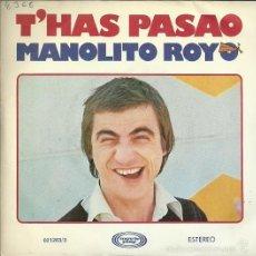 Discos de vinilo: MANOLITO ROYO SINGLE SELLO MOVIEPLAY AÑO 1977 EDITADO EN ESPAÑA. Lote 56473811