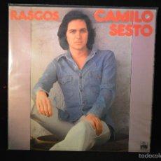 Discos de vinilo: CAMILO SESTO - RASGOS - LP. Lote 126933710