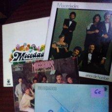 Disques de vinyle: MOCEDADES, LOTE 4 ALBUMS - DISCOS BS3. Lote 56475946