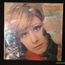 Discos de vinilo: CRISTINA - MIS AMIGOS ME LLAMAN CRIS - LP. Lote 56481004