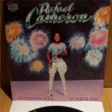 Discos de vinilo: RAFAEL CAMERON. FUNTOWN U.S.A. SINGLE / SALSOUL RECORDS - 1981 / CALIDAD LUJO. ****/****. Lote 56481153