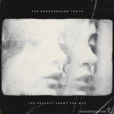 Discos de vinilo: LP THE UNDERGROUND YOUTH THE PERFECT ENEMY FOR GOD CLEAR VINILO + MP3. Lote 56481785