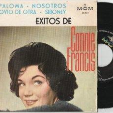 Discos de vinilo: CONNIE FRANCIS - EXITOS DE CONNIE FRANCIS (EP MGM 1964 ESPAÑA). Lote 56482441