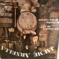 Discos de vinilo: JAUME ARNELLA GRUP DE FOLK LES RONDES DE VI LA TIMBA DE LES CARTES 4 VENTS. Lote 56483396