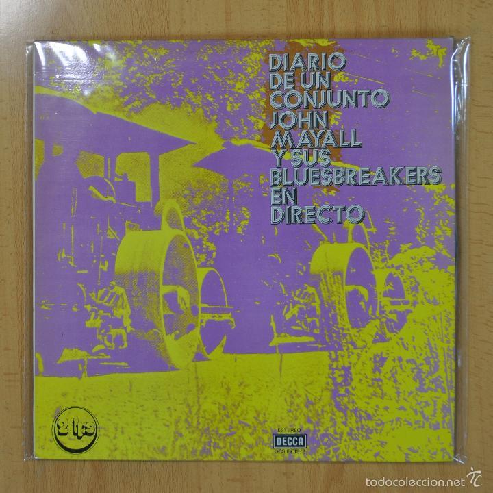 JON MAYALL / BLUES BREAKERS - DIARIO DE UN CONJUNTO - LP (Música - Discos - LP Vinilo - Pop - Rock Extranjero de los 50 y 60)