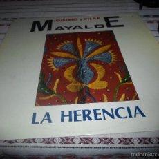 Discos de vinilo: EUSEBIO Y PILAR MAYALDE LA HERENCIA. Lote 56486893