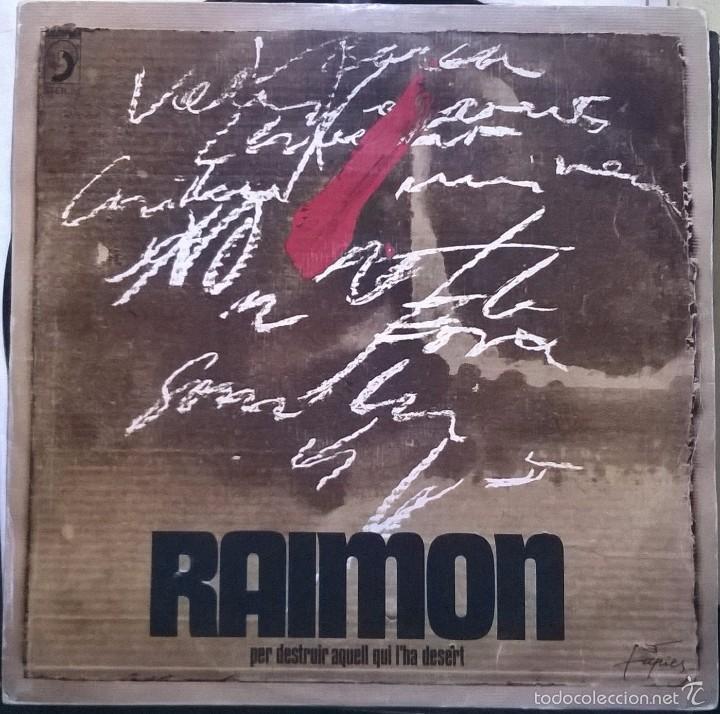 RAIMON-PER DESTRUIR AQUELL QUI L'HA DESERT, DISCOPHON-STER. 30 (Música - Discos de Vinilo - Maxi Singles - Cantautores Españoles)