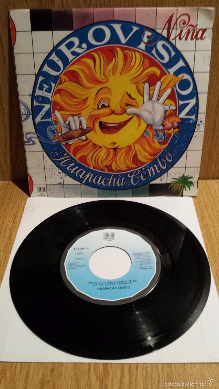 HUAPACHÁ COMBO. NIÑA. SINGLE / BELTER - 1982 / CALIDAD LUJO. ****/**** (Música - Discos - Singles Vinilo - Orquestas)