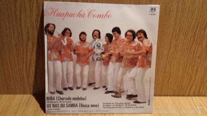 Discos de vinilo: HUAPACHÁ COMBO. NIÑA. SINGLE / BELTER - 1982 / CALIDAD LUJO. ****/**** - Foto 2 - 56488384