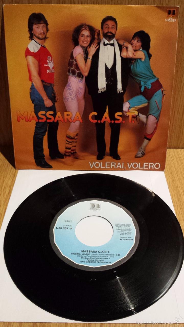 MASSARA C.A.S.T. SINGLE / DB BELTER - 1982 / CALIDAD LUJO. ****/**** (Música - Discos - Singles Vinilo - Electrónica, Avantgarde y Experimental)