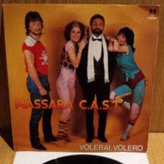 Discos de vinilo: MASSARA C.A.S.T. SINGLE / DB BELTER - 1982 / CALIDAD LUJO. ****/****. Lote 56488545