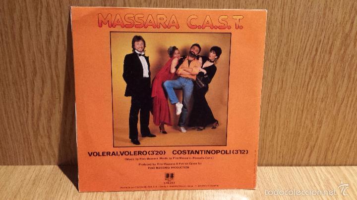 Discos de vinilo: MASSARA C.A.S.T. SINGLE / DB BELTER - 1982 / CALIDAD LUJO. ****/**** - Foto 2 - 56488545