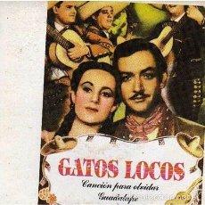 Discos de vinilo: GATOS LOCOS - CANCIÓN PARA OLVIDAR (GASA, GA-207 7'', SINGLE, PROMO, 1988) CARLOS SEGARRA. Lote 56488745