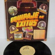 Discos de vinilo: EQUIPAJE DE EXITOS - LP - PREMIER 1981 - ROBERT PALMER / RAINBOW / STATUS QUO / ROXY MUSIC. Lote 56489149