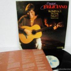 Discos de vinilo: JOSE FELICIANO - ROMANCE IN THE NIGHT - LP - MOTOWN 1983 SPAIN CON LETRAS - N MINT. Lote 56489177