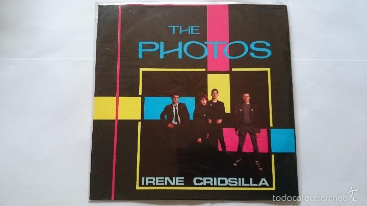 THE PHOTOS - IRENE / CRIDSILLA / BARBARELLAS / SHY (EP 1980) (Música - Discos de Vinilo - EPs - Pop - Rock - New Wave Internacional de los 80)