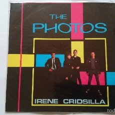Discos de vinilo: THE PHOTOS - IRENE / CRIDSILLA / BARBARELLAS / SHY (EP 1980). Lote 56490076