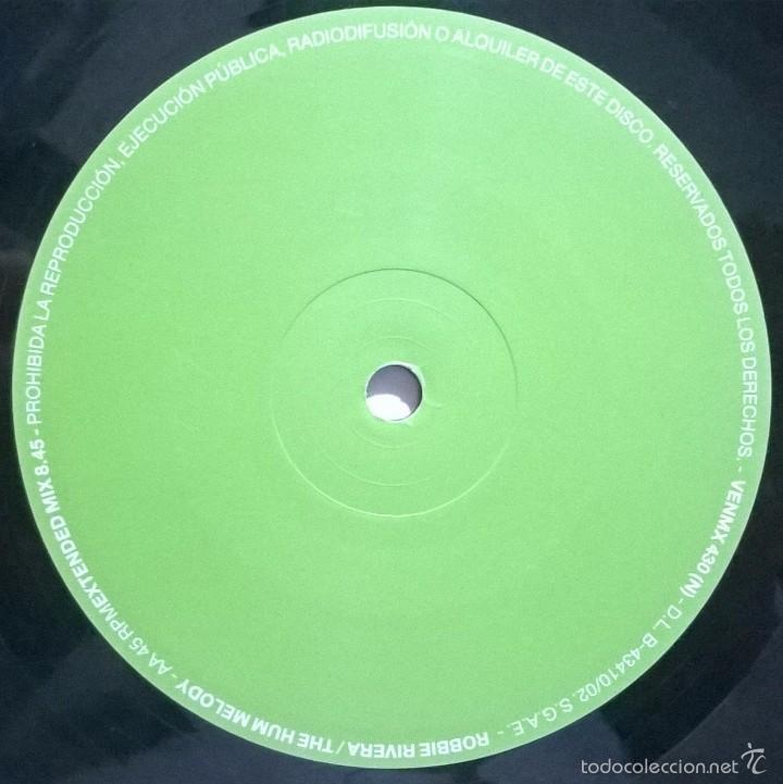Discos de vinilo: Robbie Rivera-The Hum Melody - Foto 4 - 56490841