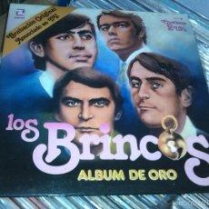 Discos de vinilo: LOS BRINCOS - ALBUM DE ORO (2XLP) . Lote 56491320