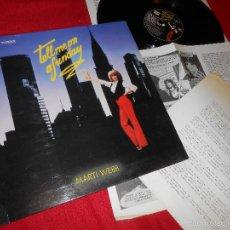 Discos de vinilo: TELL ME ON A SUNDAY MARTI WEBB BSO OST LP 1980 POLYDOR SPAIN ESPAÑA + HOJAS PROMO. Lote 56494011