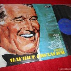 Discos de vinilo: MAURICE CHEVALIER LES TRIOMPHES DE LP 1970 DECCA SPAIN EDICION ESPAÑOLA COMO NUEVO. Lote 56496491