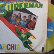 Disques de vinyle: PARCHIS -SUPERMAN -SINGLE -AMARILLO-1979. Lote 56497990