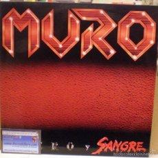 Discos de vinilo: MURO - ACERO Y SANGRE - LP ORIGINAL DE 1987. (LADY ALICIA RECORDS DLP-1.112). Lote 56500094