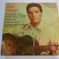 Discos de vinilo: ELVIS PRESLEY.CHICAS,CHICAS,CHICAS.EP.ESPAÑA 1963.RCA VICTOR.. Lote 56501754