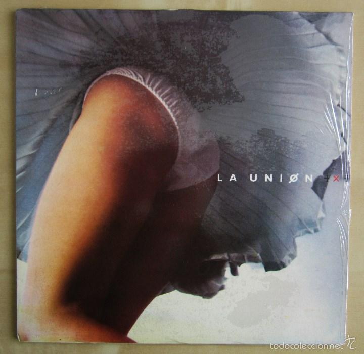 Discos de vinilo: LA UNION - 4X4 - VINILO ORIGINAL 1987 WEA PRIMERA EDICION - Foto 2 - 56501824